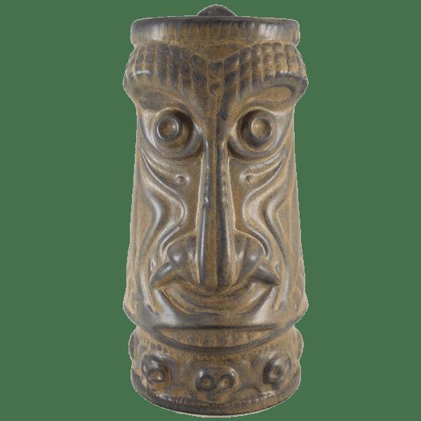Front - Crocodile King Tiki Mug - Tiki Farm - Bamboo Ash Edition
