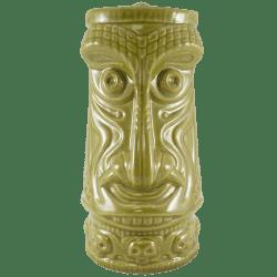 Front - Crocodile King Tiki Mug - Tiki Farm - Pippin Green Edition