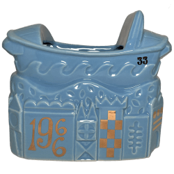 Front - It's A Small World 55th Anniversary Boat Bowl - Club 33 - 2nd Edition (Blue)