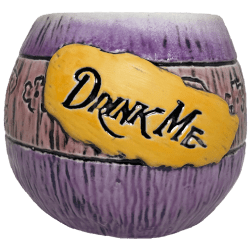 Front - Mad Tiki Cup - Lost Temple Traders - Purple and Yellow Edition